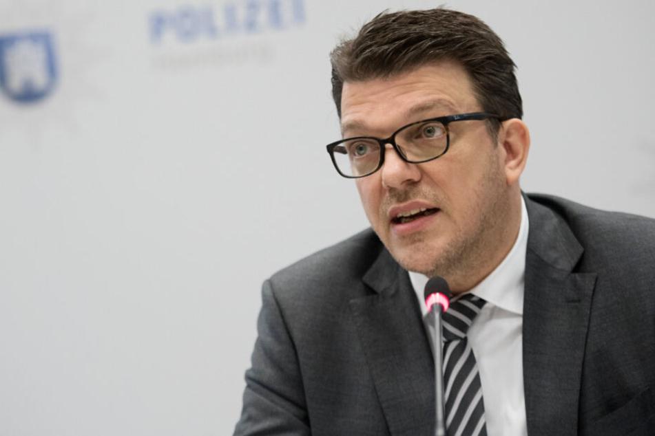Frank-Martin Heise war bislang Leiter des Landeskriminalamtes Hamburg und wurde nun seines Amtes enthoben.