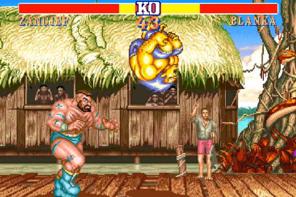 """Der Inbegriff der Arcade-Action: """"Street Fighter II: Hyper Fighting"""" aus den 90ern versetzt den Spieler in seine Jugend zurück."""