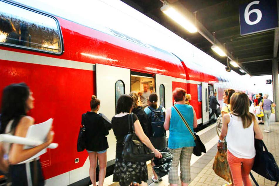 Pendler müssen sich auf Zugausfälle einstellen.