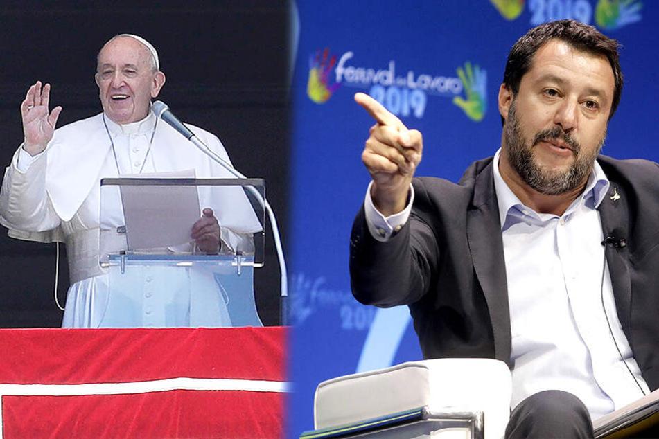 """""""Reden, die denen Hitlers ähneln!"""" Papst Franziskus besorgt angesichts des Nationalismus in Italien"""