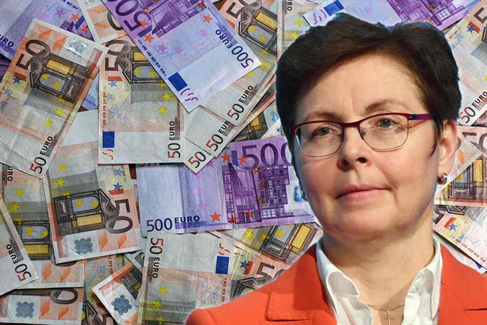 Finanzministerin Heike Taubert (SPD) kann sich über ein dickes Plus in der Kasse freuen.