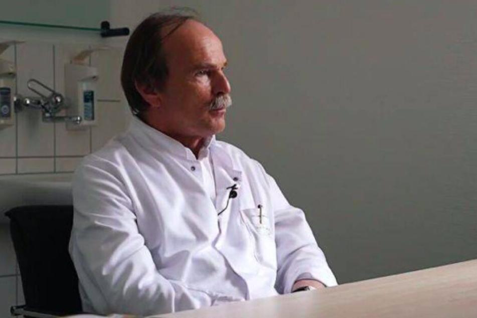 Prof. Dr. med. Arved Weimann ist leitender Artzt am Adipositaszentrum in Leipzig.