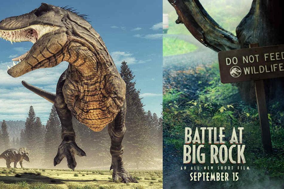 """Blutrünstige Dinosaurier: Bekommen """"Jurassic Park""""-Fans endlich Nachschub?"""