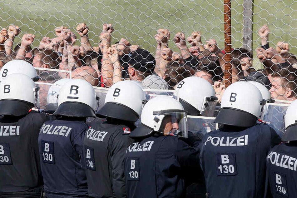 Wegen Asylstreit: Großübung von Polizei und Bundesheer