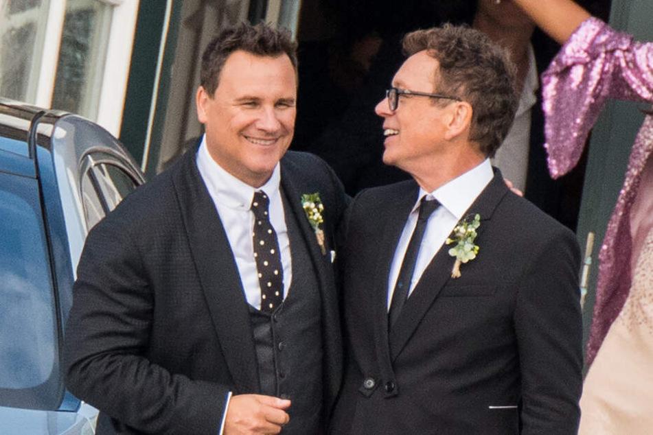 Guido Maria Kretschmer und sein Mann Frank Witters haben 2018 auf Sylt geheiratet.