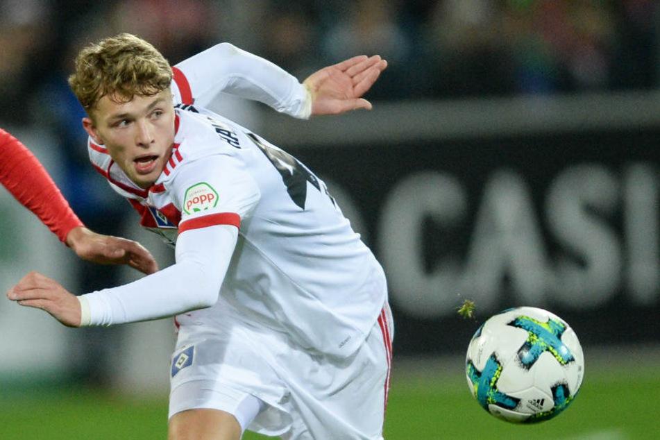 Jann-Fiete Arp könnte schon in diesem Sommer zum FC Bayern wechseln.