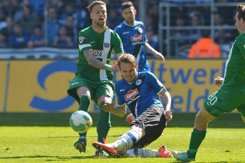 Ein Duell zwischen dem DSC und den Preußen gab es zuletzt am 33. Spieltag der Saison 2014/15.