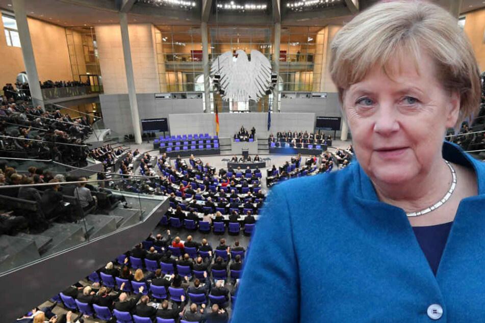 Auch Angela Merkel will den Frauenanteil in den Parlamenten erhöhen.
