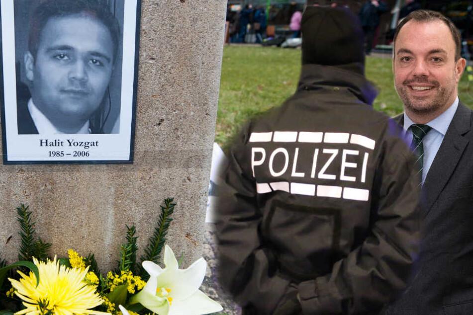 Sie widersprechen einander: Die Polizei in Kassel und Überbürgermeister Christian Geselle (l. Archivbild).