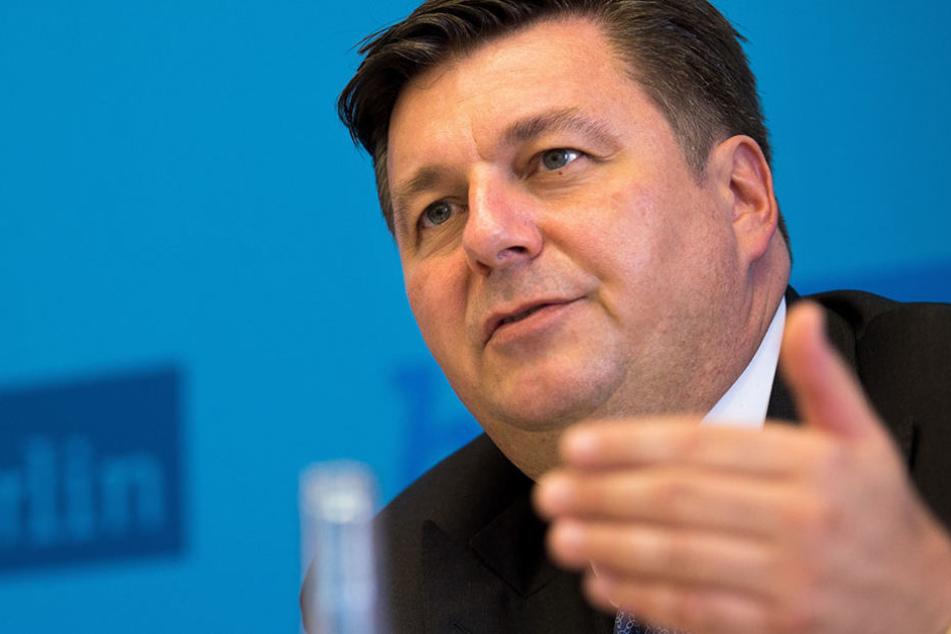 Innensenator Andreas Geisel ist strickt gegen die Poller in der Hauptstadt.