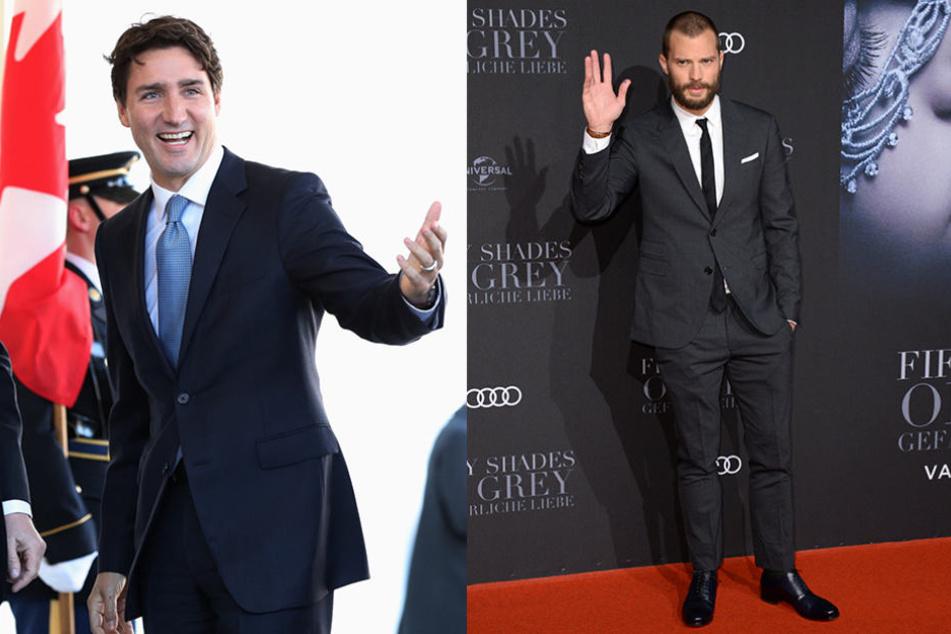 Wer kann's besser: Mr. 50-Shades oder Justin Trudeau?