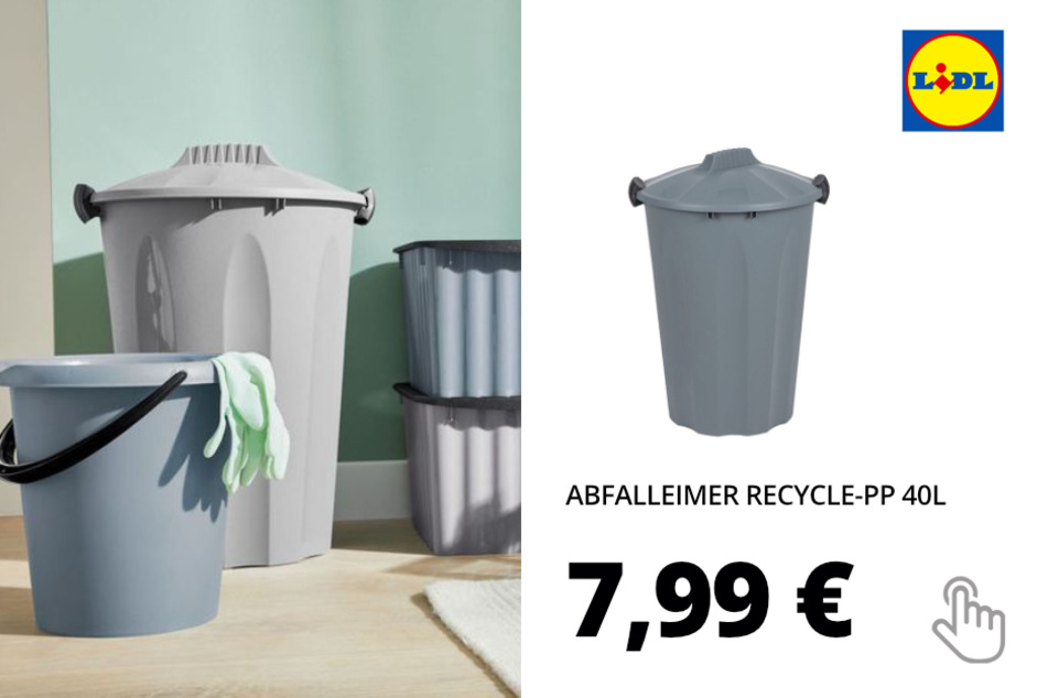 Abfalleimer Recycle-PP 40L