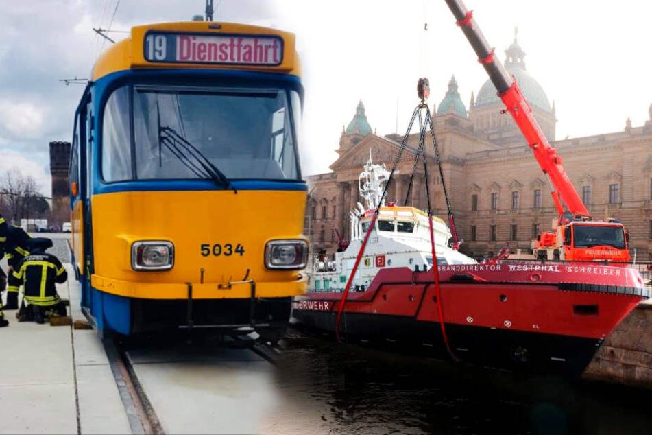 Eigenes Boot und Straßenbahnlinie für Leipziger Feuerwehr ?