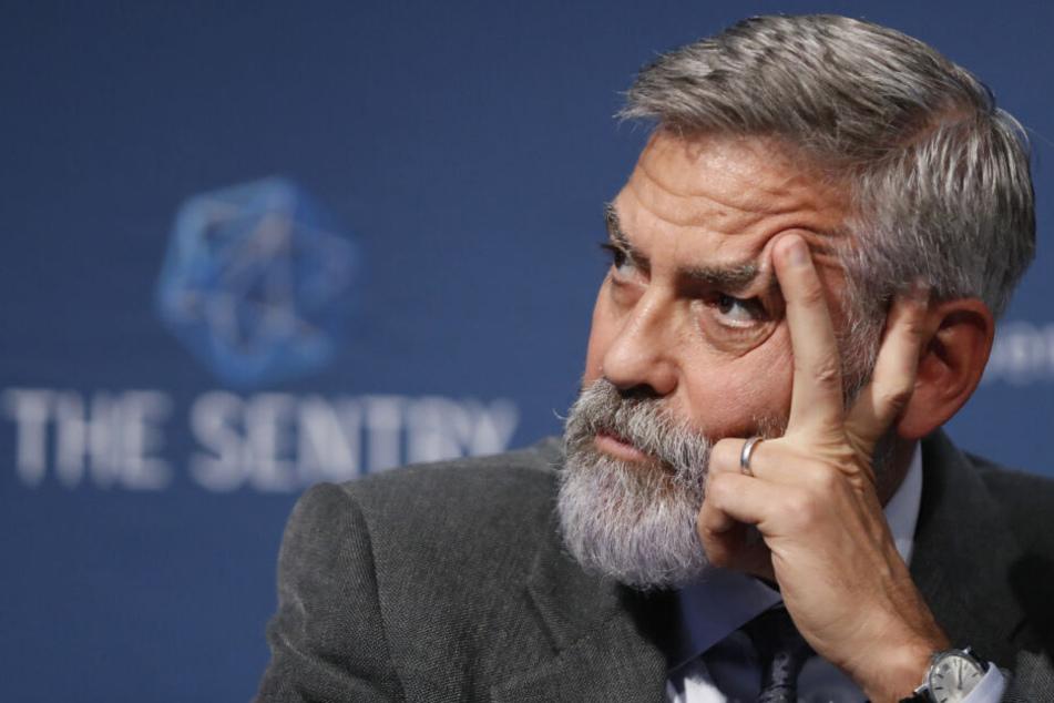 """Schauspieler George Clooney (58) ist """"überrascht und traurig"""" über die angebliche Kinderarbeit."""