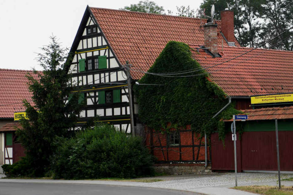 In diesem Hotel in Kirchheim sollen sich Rechtsextreme aus der ganzen Republik treffen.