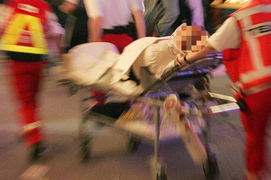Der niedergestochene Flüchtling kam in ein Krankenhaus (Symbolbild).