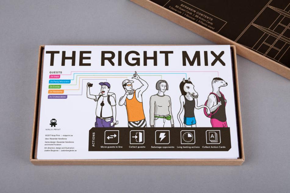 Der richtige Mix macht die Musik im Club.