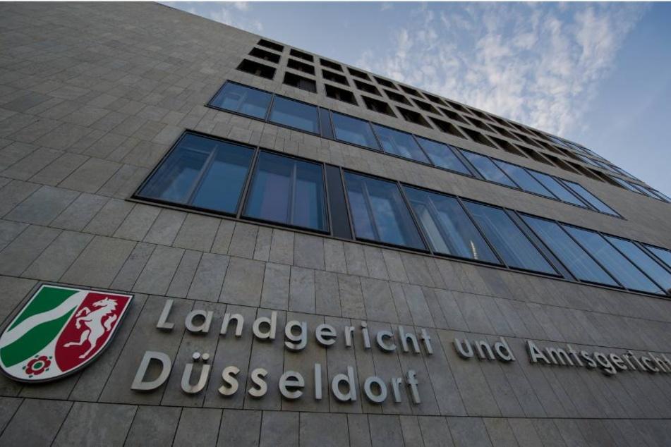 Das Landgericht und Amtsgericht in Düsseldorf.