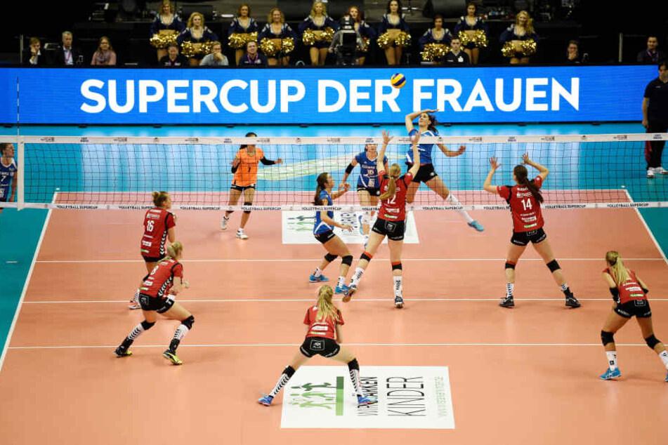 Der Supercup feierte am Sonntag in Berlin Premiere.