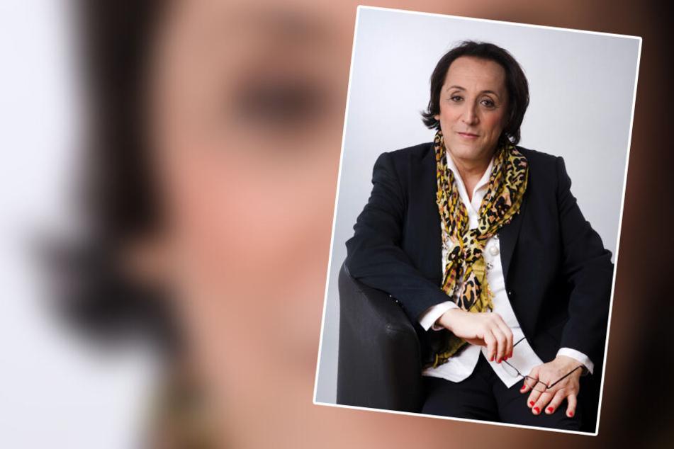 Sybill Constance De Buer, transsexuelle AfD-Politikerin, die für das Bürgermeisteramt in Burghausen kandidiert.