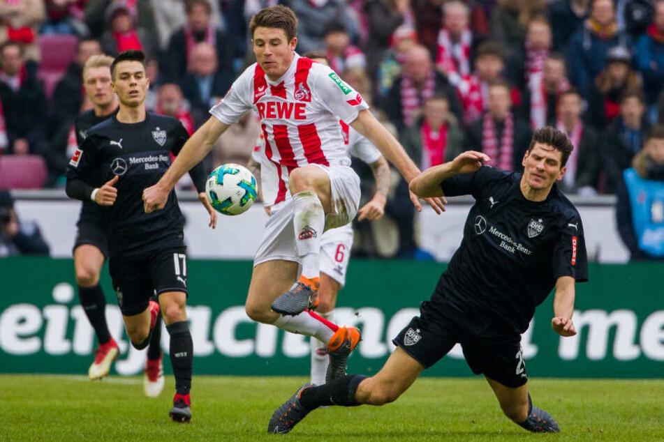 Mario Gomez nutzte zwei Fehler der Kölner Defensive.