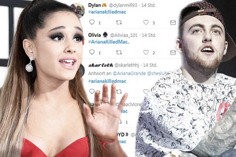 Fans machen Ariana Grande für den Tod von Mac Miller verantwortlich