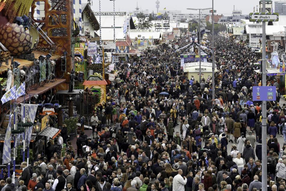 Das Oktoberfest musste in diesem Jahr wegen der Coronavirus-Pandemie abgesagt werden. (Archivbild)