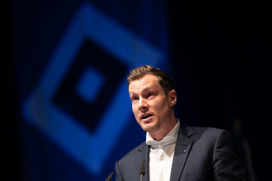 Das HSV-Präsidium um Marcell Jansen (35) hat sich nicht auf einen Termin für eine außerordentliche Mitgliederversammlung geeinigt. (Archivfoto)