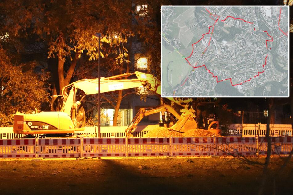 Bombenfund in Chemnitzer Wohngebiet! Etwa 15.000 Menschen von Evakuierung betroffen