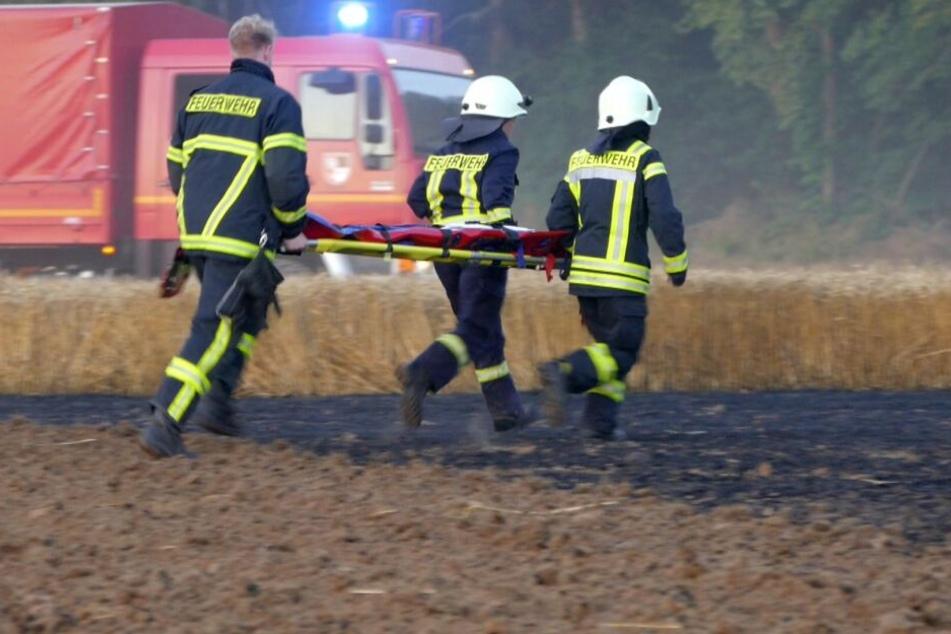 Der Zustand des Feuerwehrmannes ist nach wie vor lebensbedrohlich.
