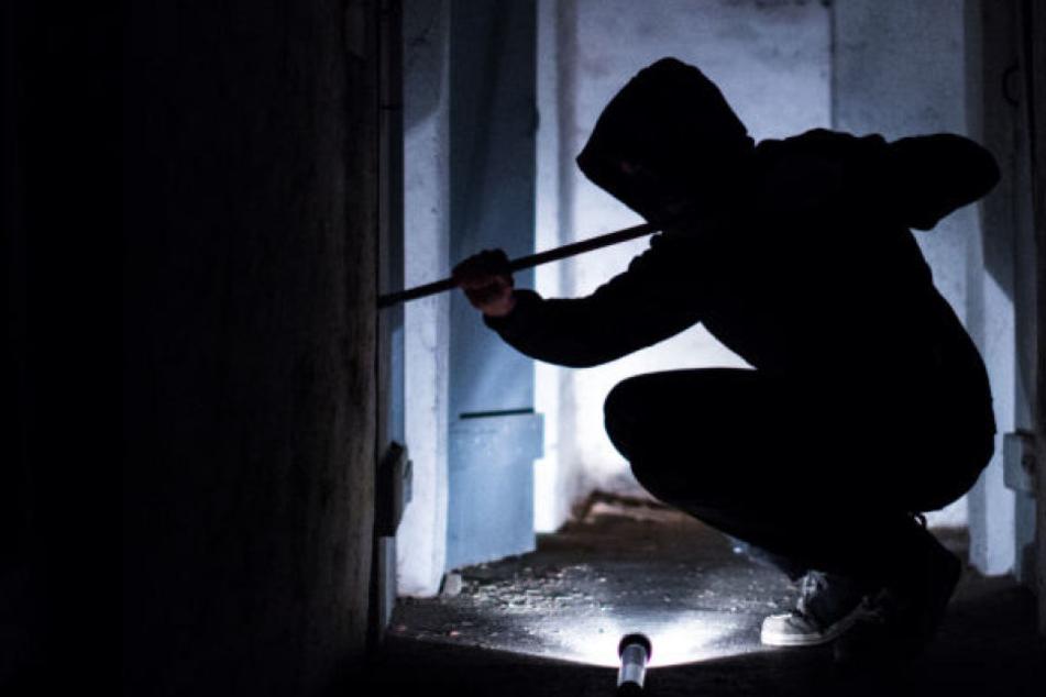 Nachdem die Räuber ins Haus eingebrochen waren, bedrohten sie die Anwesenden mit einer Pistole. (Symbolbild)