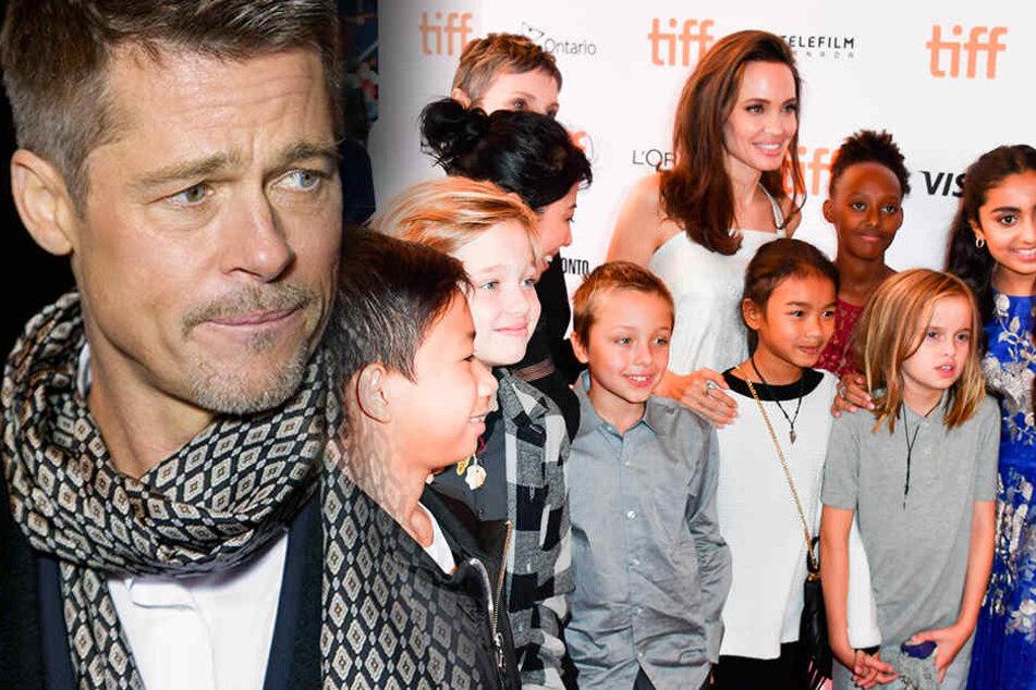 Sieht Brad Pitt seine Kinder zu Weihnachten überhaupt?