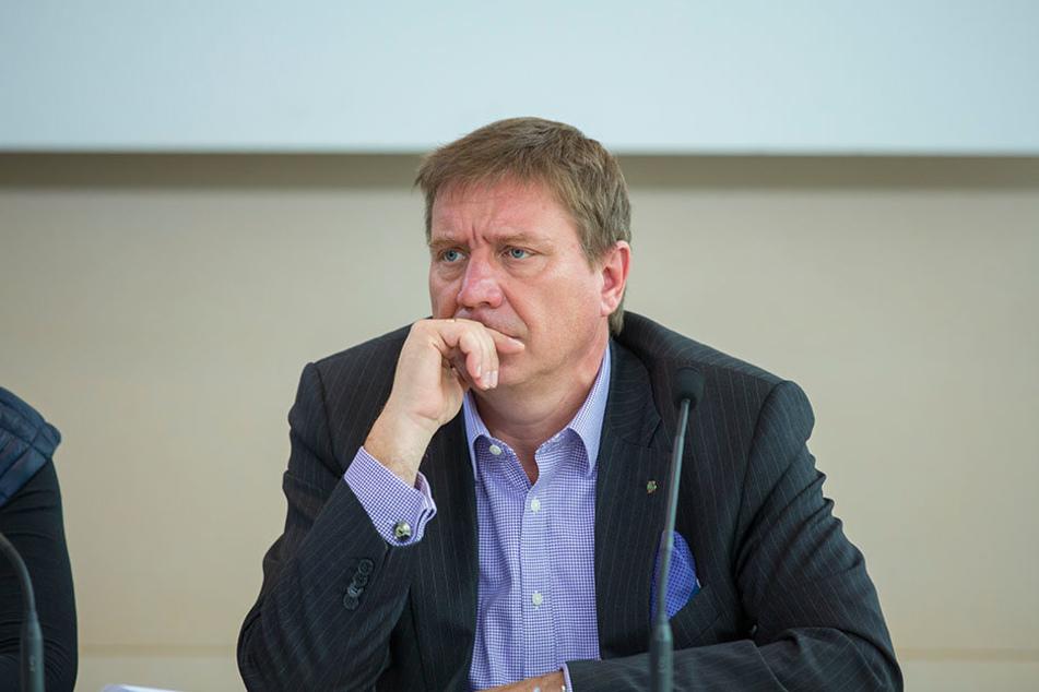 """SPD-Stadtrat Mario Pecher (54), der auch dem Landtag angehört, sagt deutlich:  """"Mein Hauptwohnsitz ist Zwickau."""""""