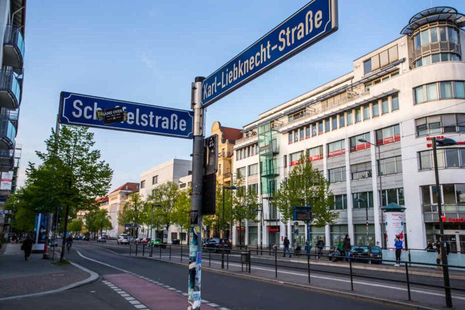 Auf der Karl-Liebknecht-Straße kam es am Donnerstagnachmittag zu eine schweren Verkehrsunglück. (Symbolbild)