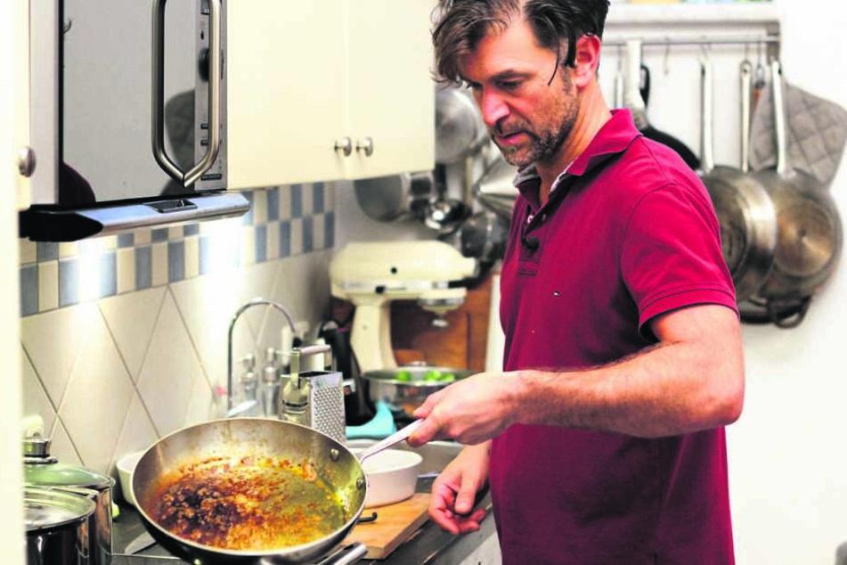 Stand auch schon für VOX am Herd: der Dresdner Gastronom Clemens Lutz.
