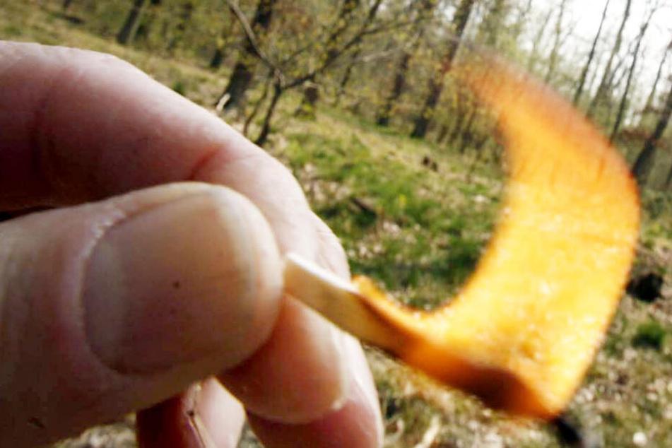 Der 33-Jährige hatte 2014 eine Gartenhütte in Brand gesetzt (Symbolbild).