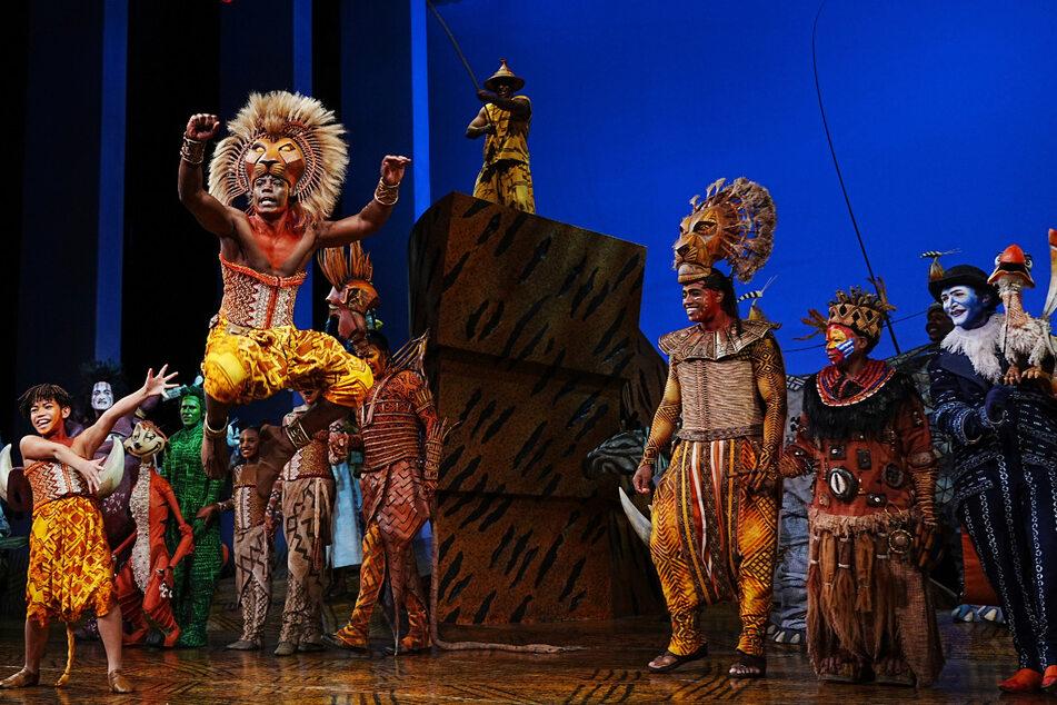 """Erste Vorstellung nach dem Covid-19-Ausfall: Am 14. September öffnete sich der Vorhang für """"Der König der Löwen"""" im """"Minskoff Theatre"""" in New York."""