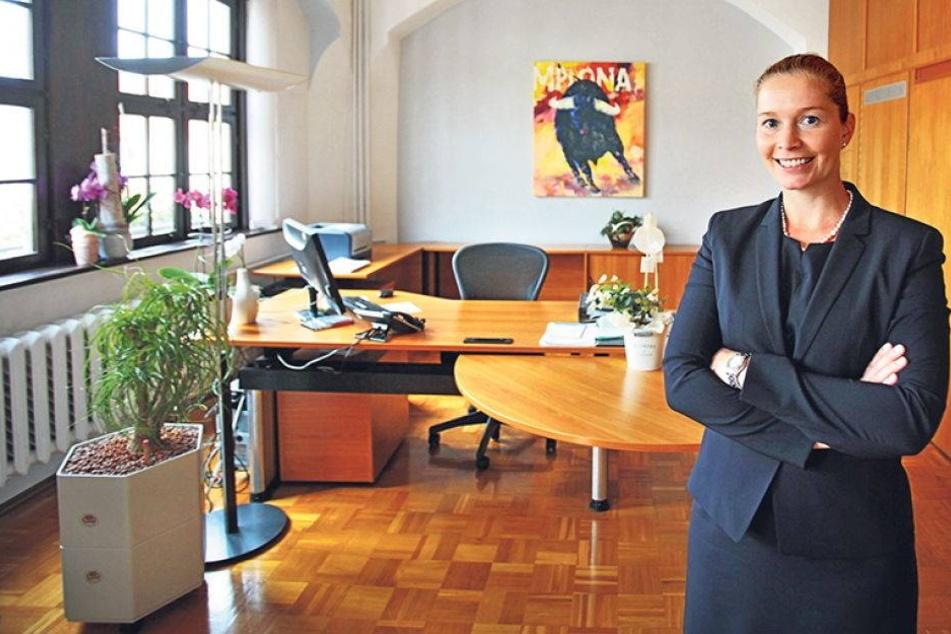 So tickt Sachsens jüngste Oberbürgermeisterin