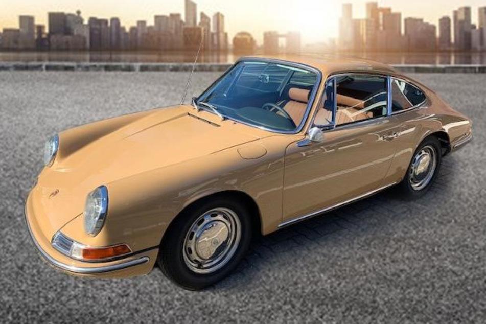 Gestohlener Porsche-Oldtimer in den Niederlanden wieder aufgetaucht