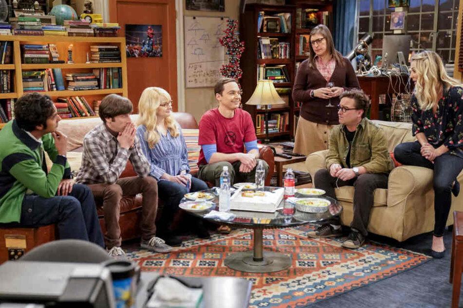 """Diesen Anblick werden die Fans vermissen: Die """"Big Bang Theory""""-Stars beisammen."""