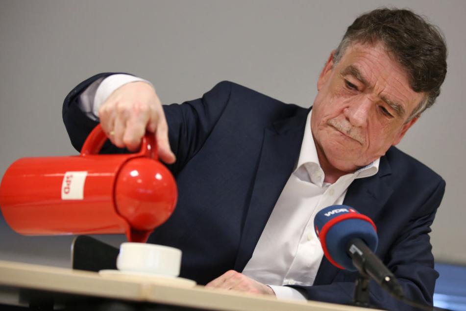 """Michael Groschek will der """"großen personellen Erneuerung"""" in der SPD-Spitze nicht im Weg stehen."""