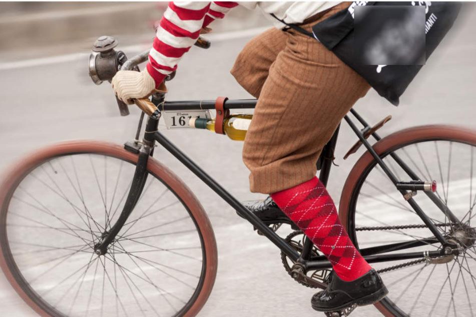 Nicht einsichtig zeigte sich ein Fahrradfahrer in Erfurt. (Symbolbild)