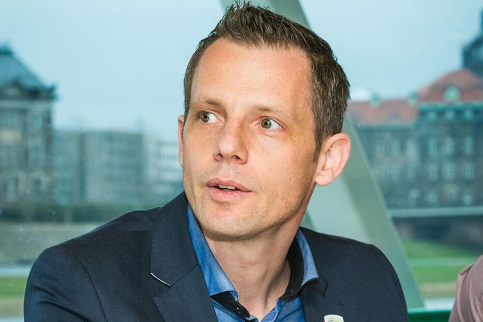 Robert Rausch (39), Sprecher der Sächsischen Dampfschiffahrt.