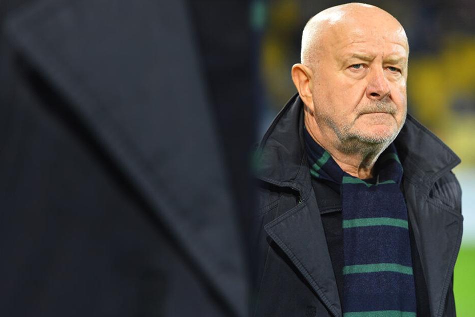 Hans-Jürgen war als Spieler bei Dynamo eine Legende, trainierte die SGD auch nach dem Bundesliga-Abstieg.