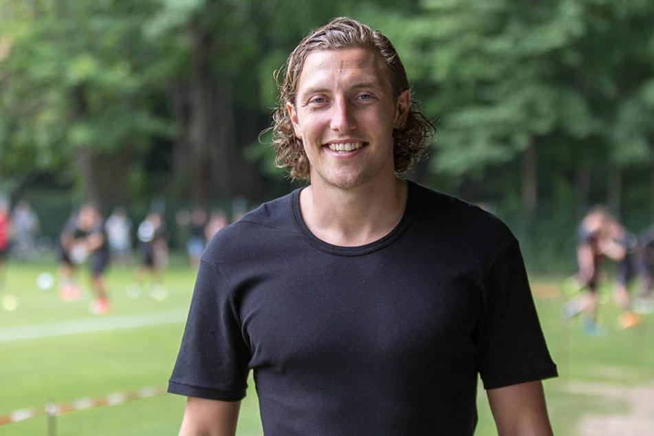 Michael Hefele (27) war bei der SG Dynamo Dresden einst Kapitän.