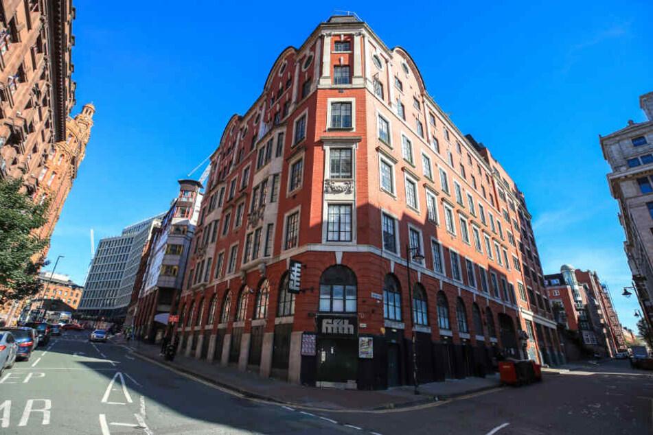 """Eine Außenansicht des Nachtclub """"The Factory"""" in Manchester, in dem ein Vergewaltiger viele seiner Opfer fand."""