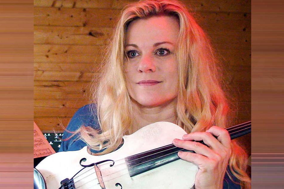 Katrin Wettin, Geigenvirtuosin aus Dresden.
