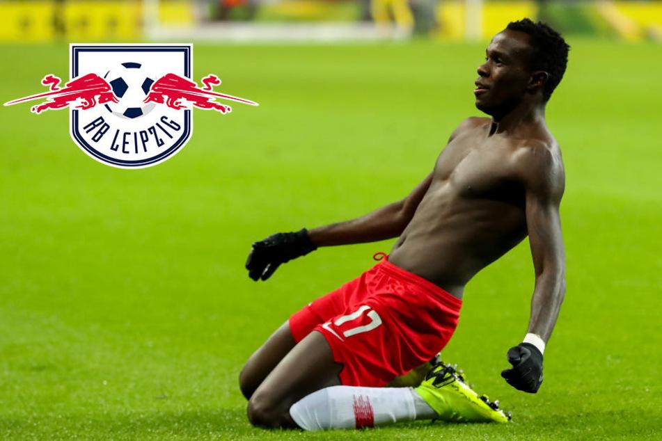 RB Leipzigs Bruma: Wechsel vom Tisch