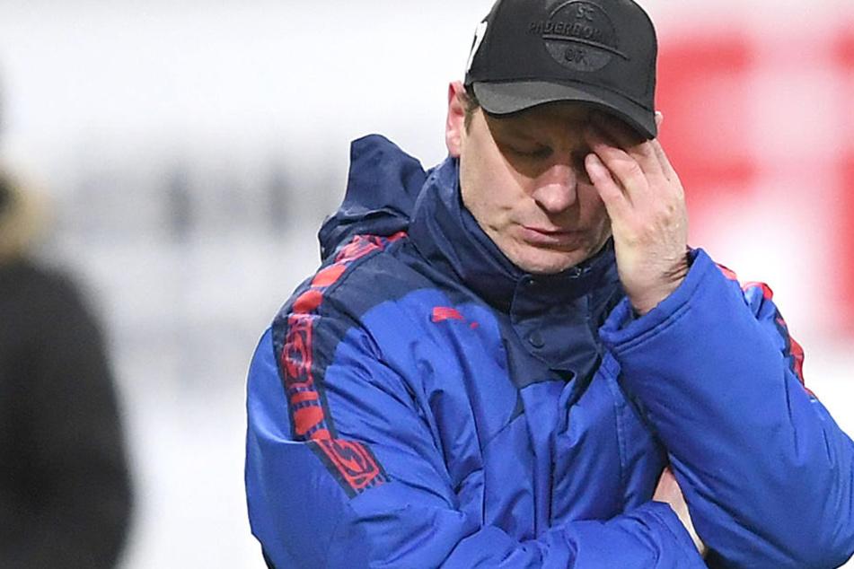 Hat ein hartes Stück Arbeit vor sich: SCPs neuer Trainer Steffen Baumgart.
