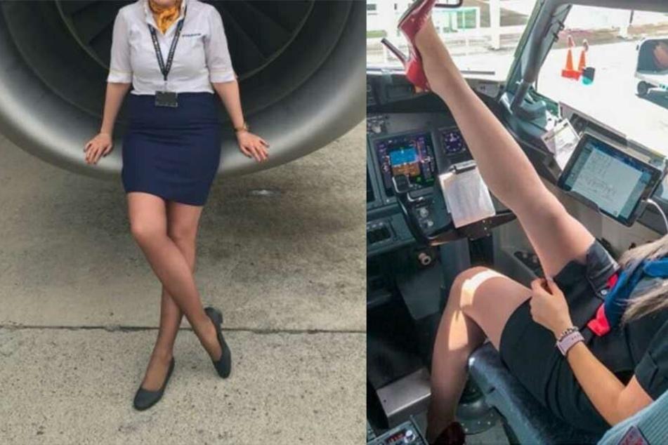 Schlüpfriger Nebenverdienst: Stewardessen verkaufen getragene Strumpfhosen